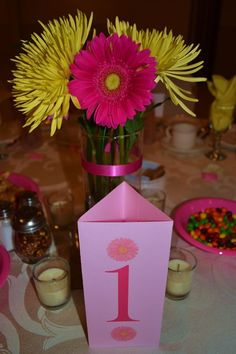 Tri Fold Menu & Table Number | Weddingbee DIY Projects