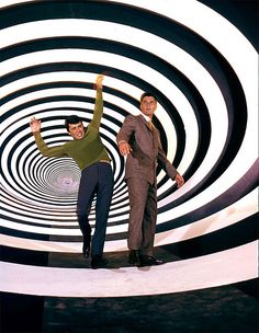 'The Time Tunnel'.  Watched every week as a child.