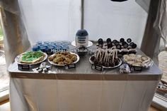 Star Wars Party Dessert Table