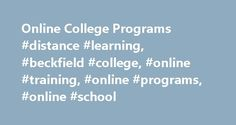 Online College Programs #distance #learning, #beckfield #college, #online #training, #online #programs, #online #school http://nebraska.remmont.com/online-college-programs-distance-learning-beckfield-college-online-training-online-programs-online-school/  # Online You Can Do It! Whether you are located in Kentucky, Ohio, or elsewhere in the United States, Beckfield College offers online college programs and career training in nursing, business, criminal justice and allied health for your…