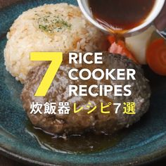 Rice and sweets! 7 rice cooker recipes that are too easy – Rice Recipes Rice and sweets! 7 rice cooker recipes that are too easy Tasty Videos, Food Videos, Rice Cooker Recipes, Cooking Recipes, Rice Cooker Cake, Cooking Corn, Rice Recipes, Asian Recipes, Healthy Recipes
