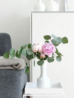 Pfingstrosen mit Eukalyptus als Hochzeits-Deko | Lieblinge & Inspirationen der Woche | www.mammilade.blogspot.de