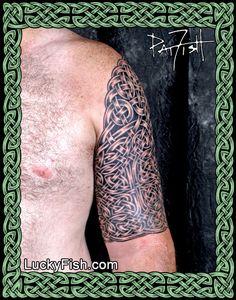 Celtic Tattoo Portfolio — LuckyFish, Inc. and Tattoo Santa Barbara Celtic Band Tattoo, Celtic Sleeve Tattoos, Celtic Cross Tattoos, Pair Tattoos, Leg Tattoos, Crest Tattoo, Cancer Tattoos, Armor Tattoo, Celtic Tree Of Life