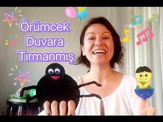 ÖRÜMCEK DUVARA TIRMANMIŞ Çocuk Şarkısı - YouTube