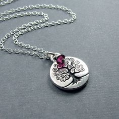 Tree of Life Necklace - ooh! love it!