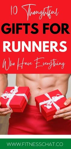 Looking for the best gifts for runners who have everything? Buying holiday gifts for your fit boyfriend or husband shouldn't be hard. Here is a helpful gift guide of gym gifts for him that he will go crazy over!