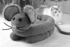 Mouse Pet Bed Crochet