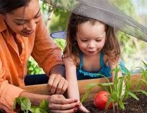 Getting out in the garden with your kiddo can help nurture your relationship. Dig into these activities you can do together.
