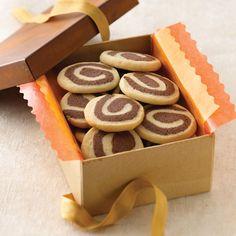 Chocolate Almond Swirls Recipe from Land O'Lakes