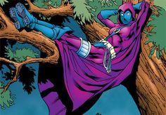 Spoiler (Stephanie Brown) sitting in a tree Batgirl And Robin, Dc Batgirl, Dc Comics Women, Marvel Dc Comics, Stephanie Brown Robin, Timothy Drake, Sitting In A Tree, Batman Universe, Dc Universe
