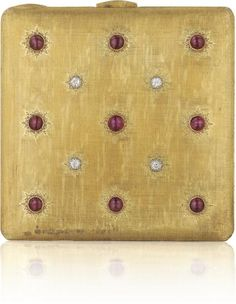 PHILLIPS : NY060211, Buccellati, A Ruby, Diamond and Gold Vanity Case