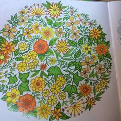Secret Garden, Johanna Basford  | Colouring Gallery