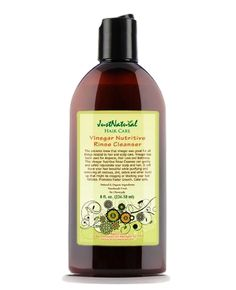 Vinegar Nutritive Rinse Cleanser   Promotes Faster Growth  It is thought that the hormone DHT can build up around hair root follicles and cause the follicle to die off.  DHT surrounds follicles like a wax clogging and choking them off which leads to hair loss and thinning.   It will leave your hair beautiful while purifying and removing all residues, dirt, debris and other build up that might be clogging or choking off your hair follicles.