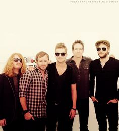 OneRepublic. Their music speaks and is easy to listen to. Awesome music to to get the day or night going.