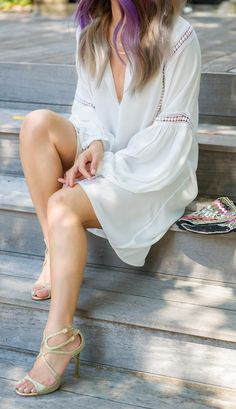 Simple and breezy shift dress