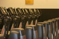 1st floor cardio room- cross-trainers