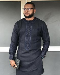 Call, SMS or WhatsApp if you want this style, needs a skilled tailor to hire or you want to expand more on your fashion business. African Dresses Men, African Attire For Men, African Clothing For Men, African Shirts, African Wear, Nigerian Men Fashion, African Men Fashion, Formal Attire For Men, Costume Africain