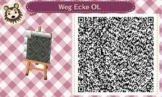 Ein kleiner Animal Crossing Blog Weg  Ecke OL path #1<--