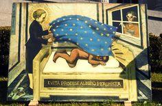 Daniel Santoro: Evita protege al niño peronista Paul Klee, President Of Argentina, Learning Process, Queen, Art Pages, Drawings, Painting, Stan Lee, 2d