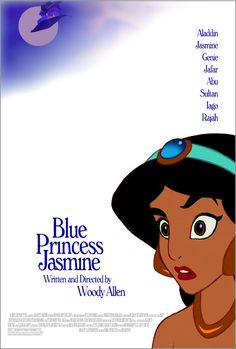 """Blue Princess Jasmine"" based on ""Blue Jasmine"" 
