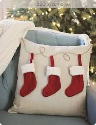 Image result for christmas pillows from pottery barn