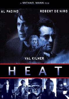 The only time DeNiro and Pacino were on screen together and it was great! A group of professional bank robbers start to feel the heat from police when they unknowingly leave a clue at their latest heist. All the actors were exceptional in this film, especially DeNiro, Val Kilmer and Ashley Judd.