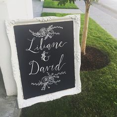 great vancouver wedding Congratulations Liliane & David! Calligraphy//Frame from @bespokedecor   #vancouverwedding #vancouverweddingstationery #vancouverwedding