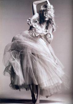 Anja Rubik photographed by Greg Kadel.