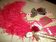 Christmas WishList and Feather Pen by thefunsister on Etsy, $7.00
