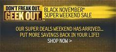 What Will Your Shopping Spree Look Like This Black November?  #cybermonday #blacknovember #blackfriday