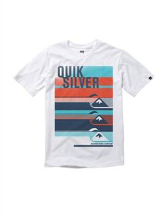 WBB0Boys 8- 6 Alpha Male T-Shirt by Quiksilver - FRT1