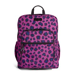 Lighten Up Large Backpack in Leopard Spots, $98 | Vera Bradley