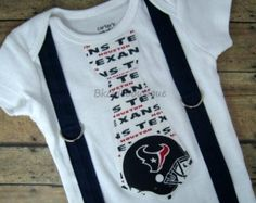 houston texans onesies -