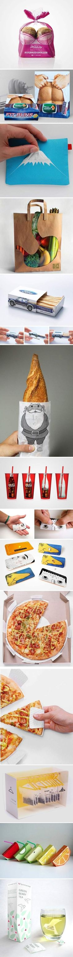 Clever Product Package Designs...