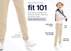 shop uniforms Gap Fall 2015