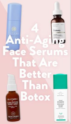 Sep 5, 2021 - We rounded up 4 face serums that work better than botox. With incredible customer reviews and ratings, these facial serums address key signs of aging, helping you achieve the youthful complexion you're after. #skincare Beauty Games, Beauty Bar, Beauty Skin, Facial Serum, Skin Makeup, Skin Care Tips, Anti Aging, Cosmetology, Key