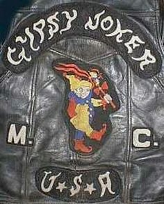 Gypsy Joker MC The Gypsy Joker Motorcycle Club is an Outlaw Motorcycle Club started in that's based in Oregon and Washingt. Outlaws Motorcycle Club, Motorcycle Vest, Motorcycle Clubs, Ez Rider, Bike Gang, Biker Clubs, Hells Angels, Biker Patches, Biker Leather