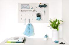 miss red fox - Multitasking Home DIY Peg Board - Flur - Entrance