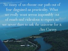 Beat back #fear every day, and don't worry about what everyone else is doing. This is your #journey.