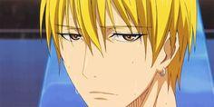 Kise Ryota - the one who can copy other's technique! Midorima Shintarou, Kise Ryouta, Akashi Seijuro, Kagami Taiga, Kise Kuroko No Basket, Kuroko Tetsuya, Manga Art, Anime Manga, Anime Guys