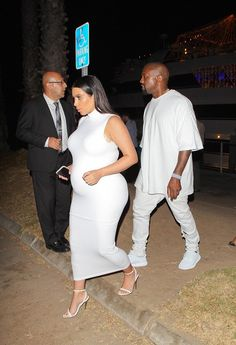 Keeping Up With Kimye — Kim & Kanye at James Harden's party - August 25,...