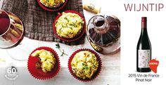 Hartige muffins met gehakt
