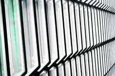 Harpa Concert Hall Windows Iceland by Stuart Litoff