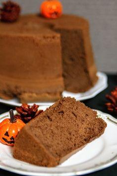「しっとり濃ゆい♡チョコレートシフォン」笑連soyon | お菓子・パンのレシピや作り方【cotta*コッタ】