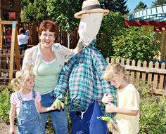 Six easy steps to build your own scarecrow
