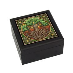 9810 Celtic Tree of Life Box @Pacific Trading