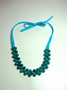 I just need to do this...necklace tutorial