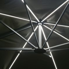 Sunrise Cantilever Parasol with LED Lights by Westminster — The Worm that Turned - REVITALISING YOUR OUTDOOR SPACE
