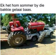 Pure Plaas. Dark Sense Of Humor, Afrikaanse Quotes, Twisted Humor, South Africa, Funny Quotes, Jokes, Tractors, Laughing, Blankets