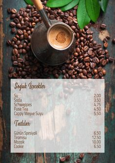 Brew Mood Coffee / coffee menu design / graphic design Coffee Menu, Coffee Coffee, Cafe Menu Design, My Works, Brewing, Mood, Graphic Design, Tea, Tableware
